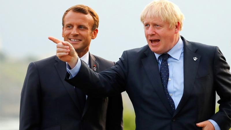 Johnson seeks to push Trump at fractious G7