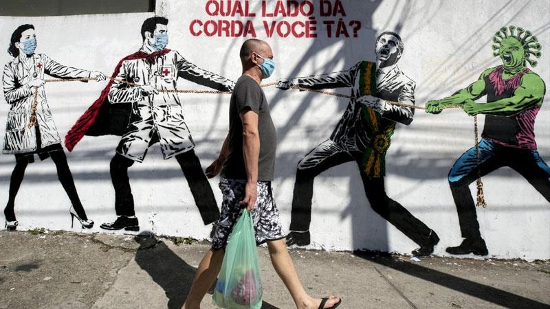 Brazil's coronavirus death toll reaches 72,000