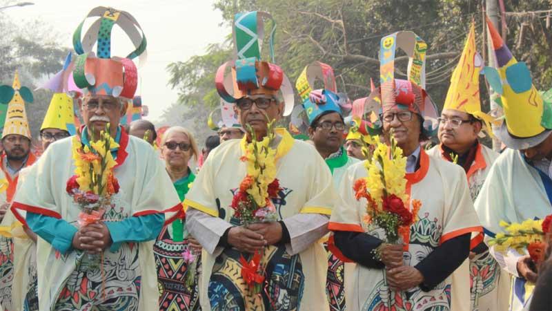 40 years celebration of Bishwo Shahitto Kendro held