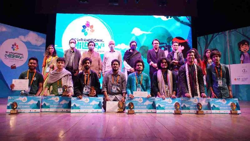 Curtains down on 14th International Children's Film Festival Bangladesh