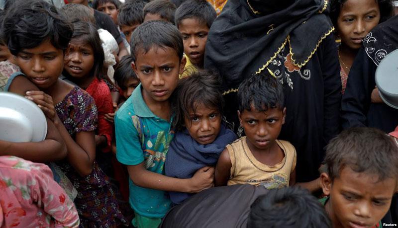 475,000 children being vaccinated in Cox's Bazar