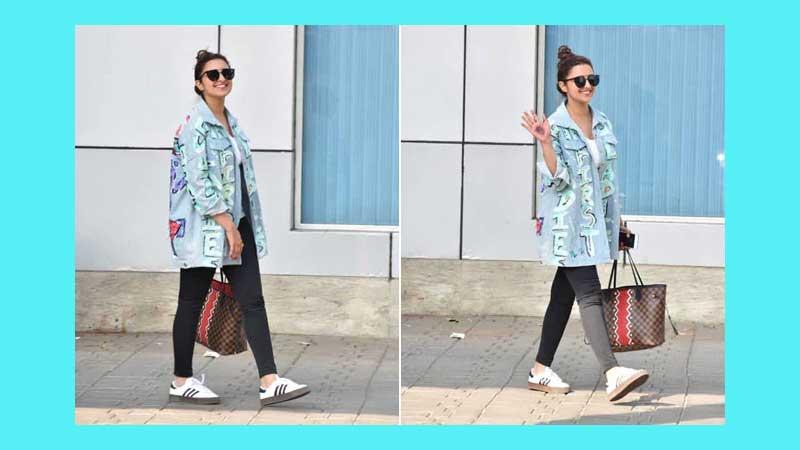 Spread denim love in trendy shirts, like Parineeti Chopra