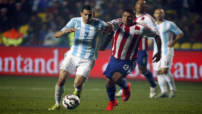 Argentina beat Paraguay 6-1 to reach final