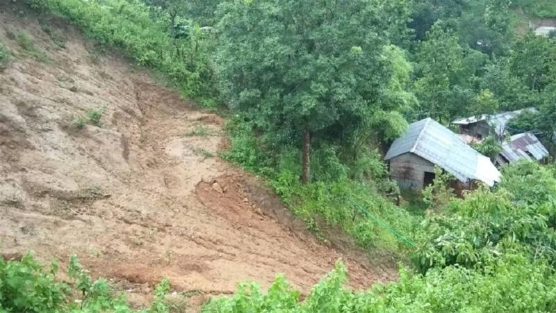2 children killed in Cox's Bazar landslide