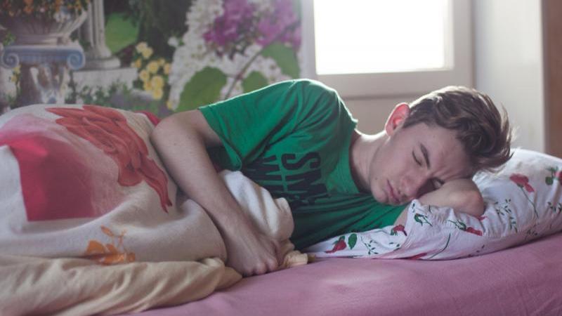 Disturbed sleep maybe an indication of this sleep disorder
