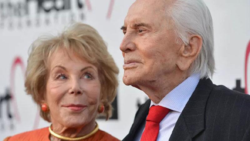 Anne Douglas, widow of Hollywood legend Kirk, dies at 102