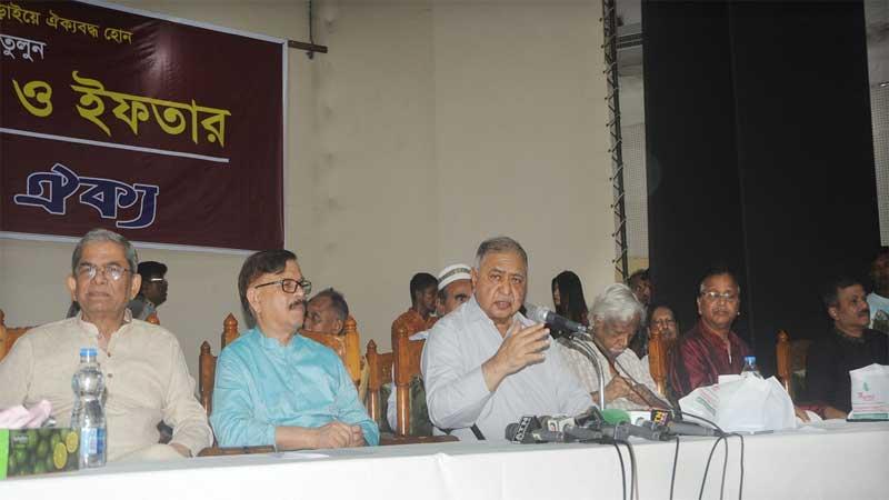 Dr Kamal seeks unity to establish pure, functional democracy