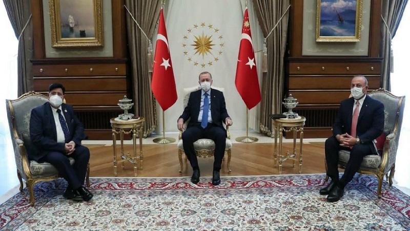 Erdogan lauds Hasina for providing shelter to Rohingyas