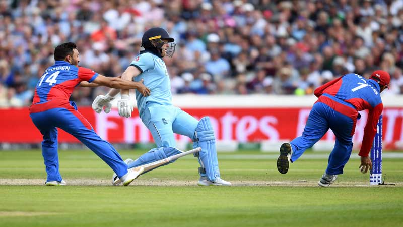 Bairstow denied World Cup hundred by Afghanistan
