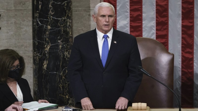 House urges Pence to remove Trump from power