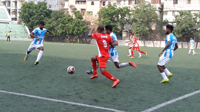 BCL Football: Fakirerpool YC beat Feni SC by 1-0