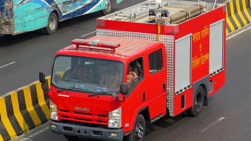 Café De Taj restaurant catches fire in city