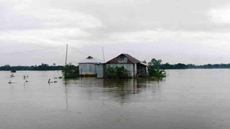 Post-flood erosion renders many homeless Faridpur