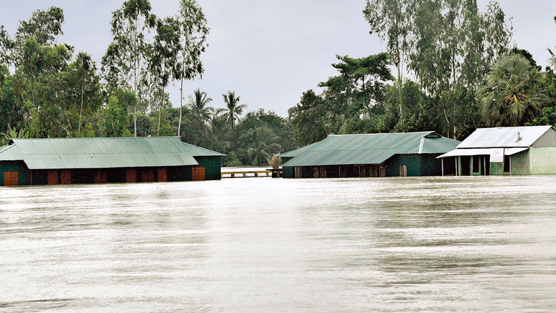 Flood situation may worsen in ten districts