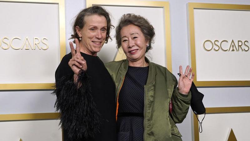 Frances McDormand a double Oscar winner for 'Nomadland'