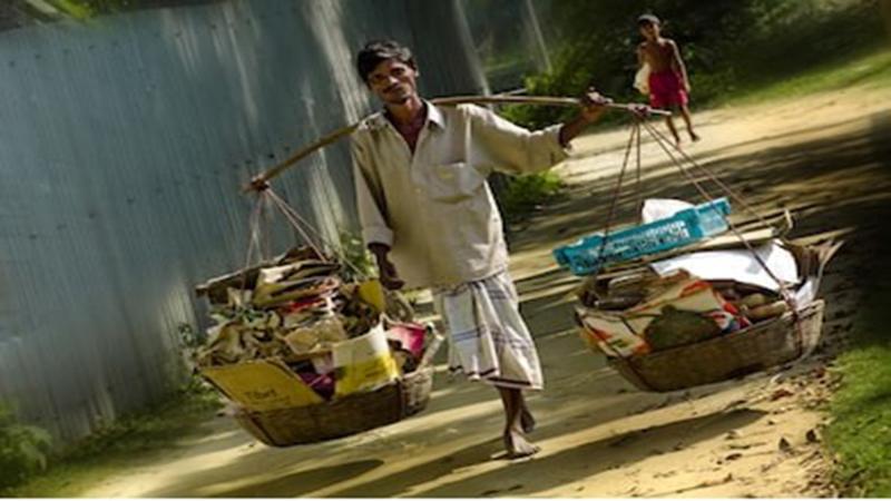 Bartering garbage for foods or cash!