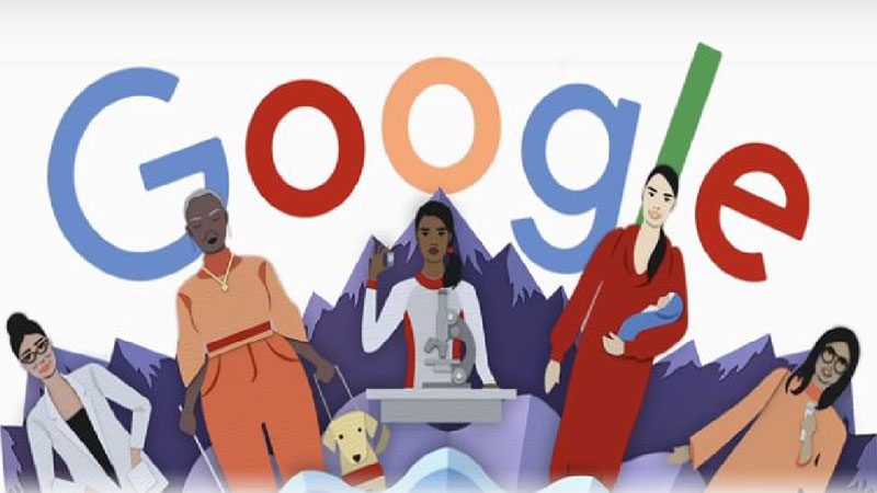 Google celebrates International Women's Day with doodle