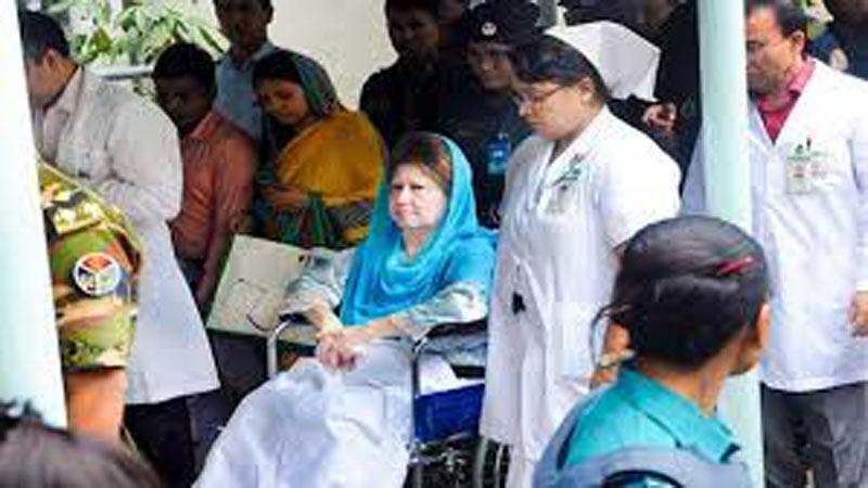 Khaleda Zia's condition stable, views BSMMU