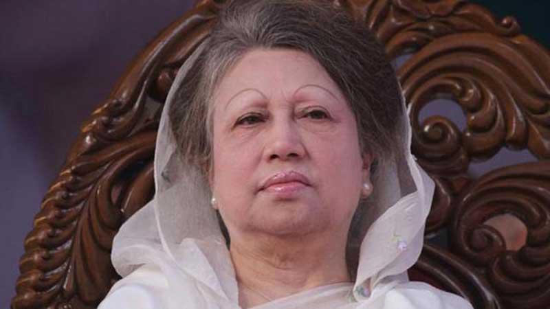 After release, Khaleda reaches Gulshan home