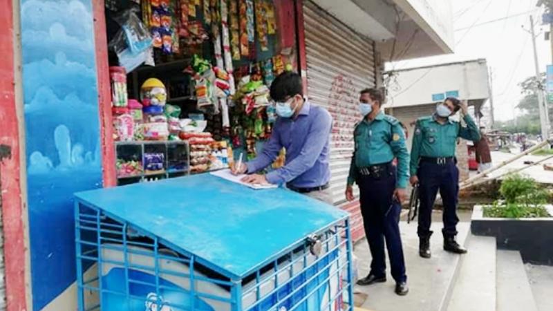 Tk 10,800 fined for breaking Covid-19 guidelines in Khulna