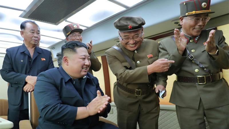 N. Korea's Kim supervised 'new weapon' test again: KCNA