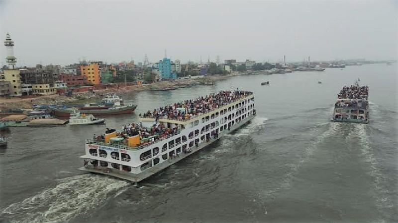 Paturia-Daulatdia ferry services resume after 12 hours