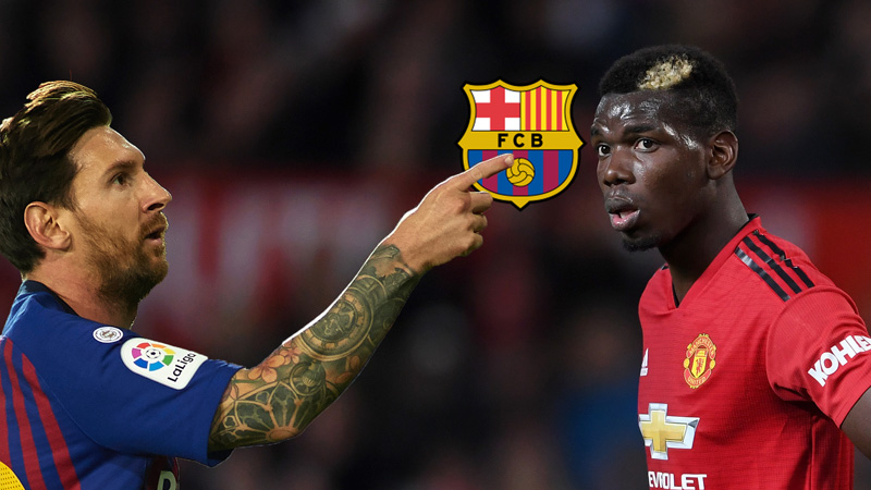 Messi wants Pogba to join Barcelona