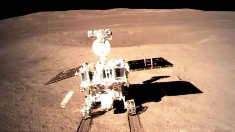 China's lunar rover travels over 300 meters on moon's far side