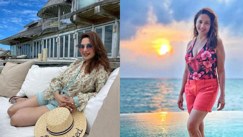 Madhuri Dixit's beachside fashion look