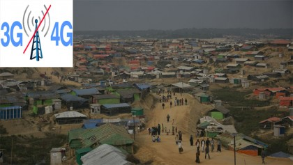 3G, 4G services suspended in Rohingya camp areas