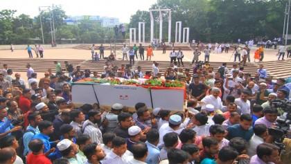 Ex-Dhaka mayor Khoka laid to rest