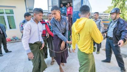 95 Rohingyas face jail in Myanmar