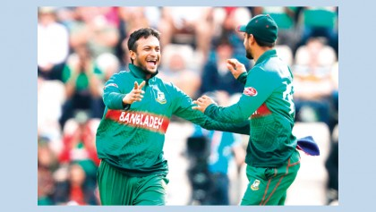 Accolades pouring on Shakib after incredible CWC records