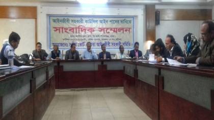 Advocate clerks threaten indefinite hunger strike