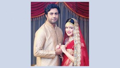 Apurba, Nabila to showcase marital love in 'Sangsar'