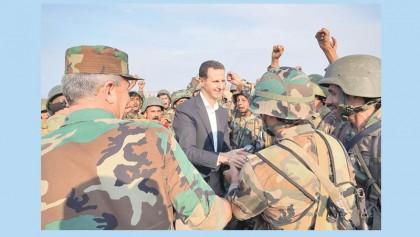 Idlib front is main battle to end Syria war: Assad