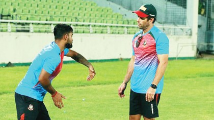 McKenzie prescribes fearless and brave cricket for Bangladesh team