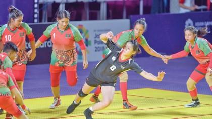 Bangladesh go down in  kabaddi's both events