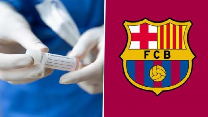 Barcelona confirm one positive Covid-19 test