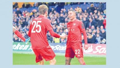 Bayern closing in on quarter-final