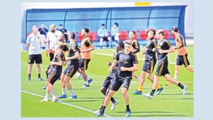 Belgium set eyes on last 16