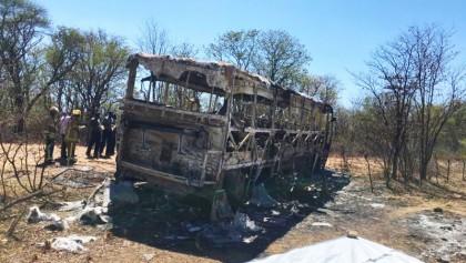 Bus fire kills 40 in Zimbabwe