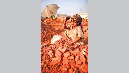 Children should not work in fields,  but on dreams