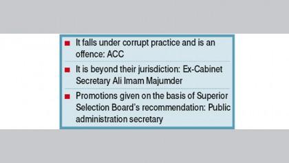 Demi-official letters galore for bureaucrats' promotion
