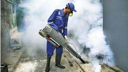 Dengue menace and climate change