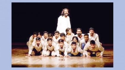 'Jibon O Rajnoitik Bastobota' being staged at BSA