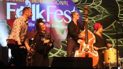 Dhaka International Folk Fest underway
