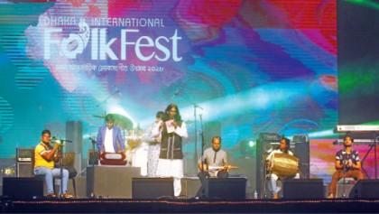 4th edition of 'Dhaka Int'l Folk Fest' wraps up