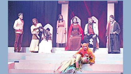 Shakespeare's 'Hamlet'  on BSA stage today