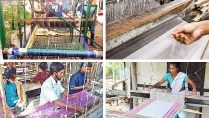 Handloom industry in dire straits